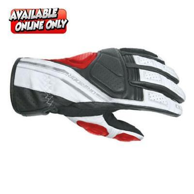 DRIRIDER Phantom Motorcycle Gloves Summer Sports Touring Red ALL SIZES RRP $69