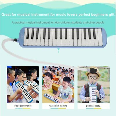 32 Piano Keys Melodica Musical Education Instrument for Beginner Blue G Tone