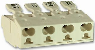 LIGHTING CONN PUSH FAST 4P + EARTH Connectors Terminal Blocks - CZ58856