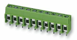 TERM BLOCK PCB SCREW 5.0MM 6WAY Connectors Terminal Blocks - CZ58580
