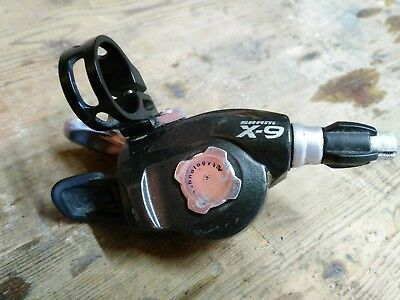 SRAM x9 resr shifter, 9 speed