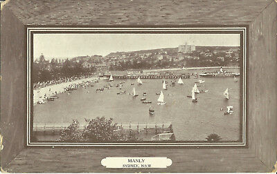 Postcard - Manly, Sydney, NSW, Australia - Early Century