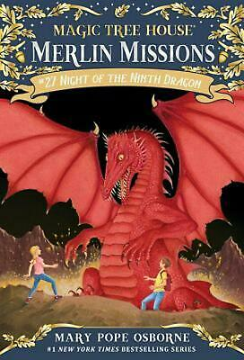 Night of the Ninth Dragon by Mary Pope Osborne Paperback Book Free Shipping!