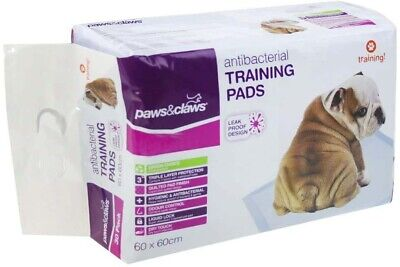 Pet Dog Puppy Indoor Cat Toilet Training Pads Absorbent 60x60cm 50/200/400