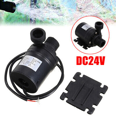 800L/H 5m DC 12V/24V Solar Brushless Motor Hot Water Circulation Water Pump