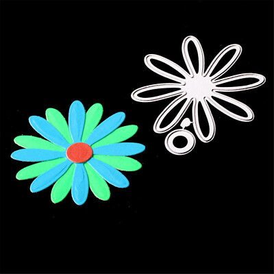 Romantic Flower Circle Metal Cutting Dies for Scrapbooking Album Cards Making  X