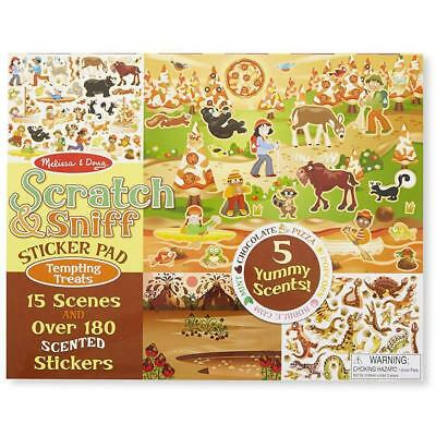 Melissa and Doug Scratch & Sniff Sticker Pad - Tempting Treats