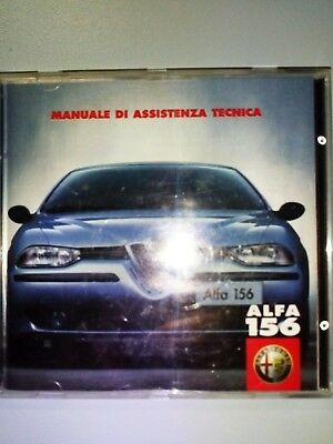 cd manuale assistenza Alfa 156