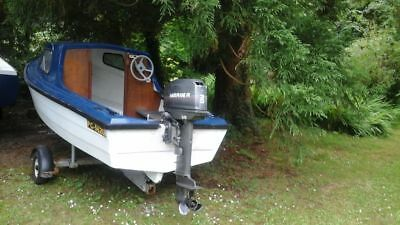 Mayland 14ft fishing boat with 30hp outboard and trailor