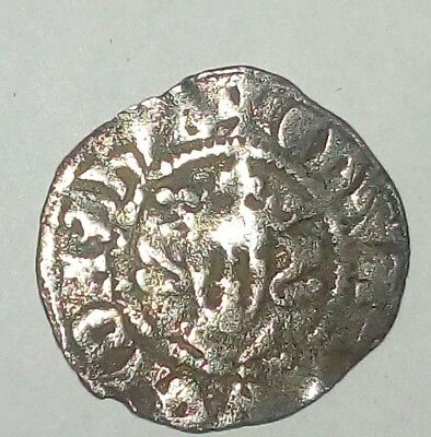 English Silver  Medieval Long Cross Edward lst penny London Mint Rare