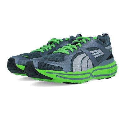 Puma FAAS 900 Mens Grey Green Cushioned Lightweight Road Running Shoes Trainers