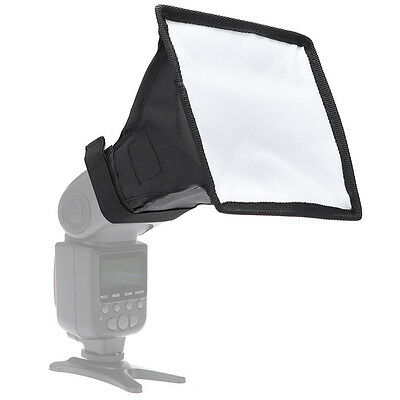 New 15x17cm/5.9x6.7inches Universal Mini Softbox Flash Diffuser for Speed Light