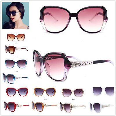 UK Womens Ladies Designer Polarized Sunglasses Oversized Driving Eyewear UV400