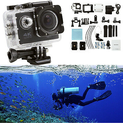 SJ9000 Waterproof Wifi Ultra 4K 1080P HD Sport Action Camera DVR DV Camcorder