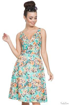 88310ccecab VOODOO VIXEN WOMENS Claudine Parisian Summer Dress A-Line Dress ...