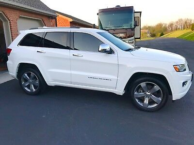 2015 Jeep Grand Cherokee Overland 2015 Jeep Grand Cherokee Overland 4x4 Mint Condition