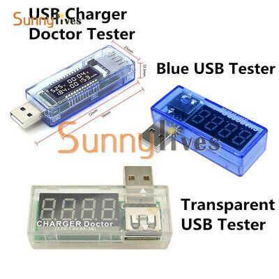 USB Charger Doctor Capacity Time Current Voltage Detector Meter Battery Tester N