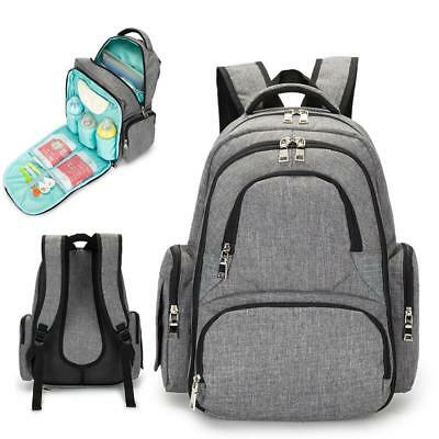 Bag Nappy Diaper Baby Mummy Backpack Travel Large Capacity Maternity Lequeen