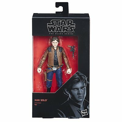 "Star Wars Black Series Han Solo Movie 6"" Action Figure"