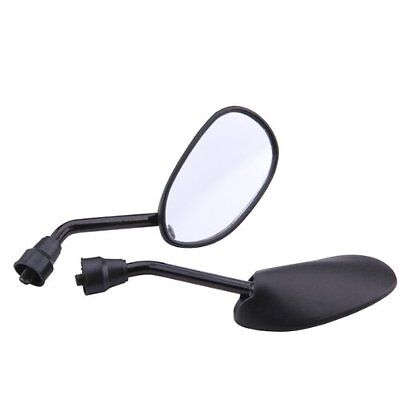 Pair Rear - view mirror for Motorcycle Scooter tread screw 8mm M8 adjustabl F8H3