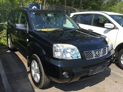 54 Nissan X-Trail 2.2 Dci 136Bhp Sve **black, Nav, Leather, 1 Owner From New!!**