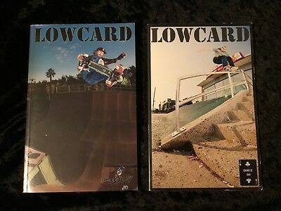 Low Card Skateboarding Magazine Lot  Issues 59 60 Mint Condition No Reserve