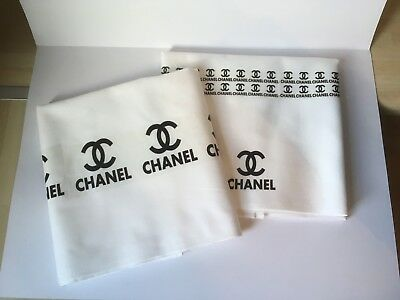 Tea Towel Personalised Chanel Inspired Handmade/decorated