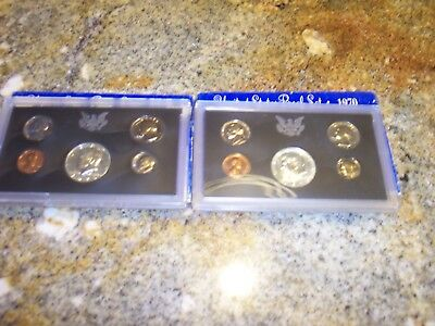 2  1970-S United States Proof Set GEM Proof (Original Mint PACKING MINT CONDITIO