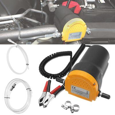 12V DC 60W Extractor Suction Pump Car Motor Oil Transfer Fluid Change Home NP
