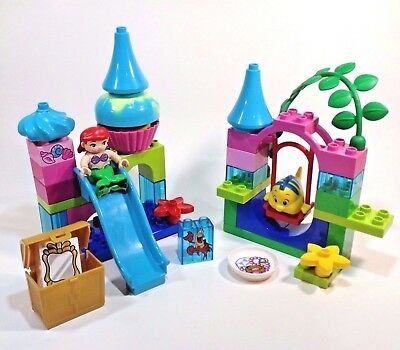Lego Duplo 10515 Ariel Undersea Castle Mermaid Disney Princess