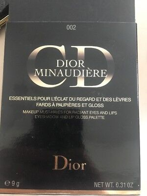 Dior Minaudiere 002 Ors Roses / Pink Golds Limited Edition Eyeshadow And Lip