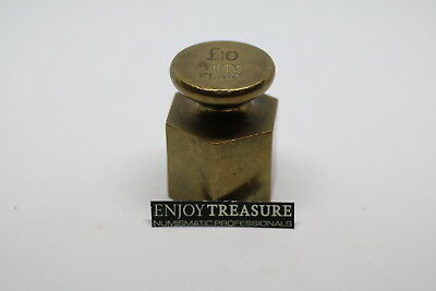 Uk Gb Coin Weight 50 Penny 10 Pounds Heavy A72 Cg39 - 3