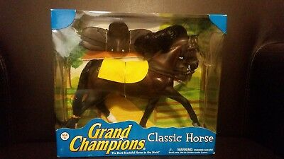 Grand Champion Horse Friesian Stallion Shadow New in Box
