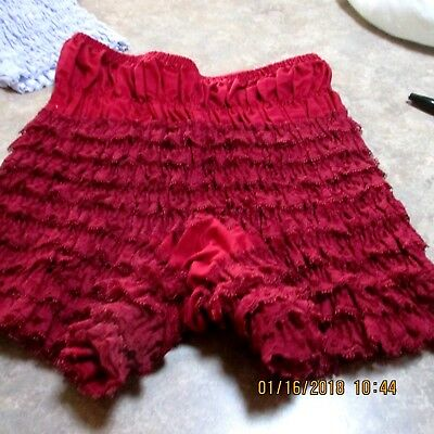 #4-SQUARE DANCE PETTIPANTS, SIZE SMALL,GOOD CONDITION Waist fits 24- 31  inches