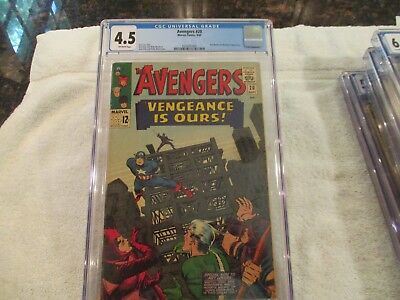 The Avengers #20 (Sep 1965, Marvel) CGC Swordsman appears Iron Man by Stan Lee