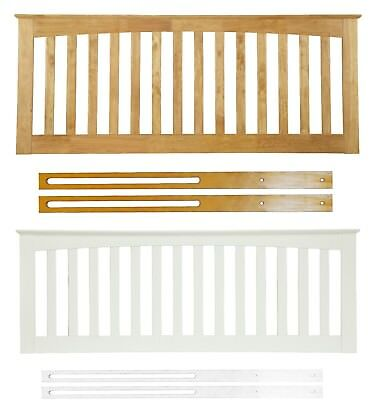 Bragi Solid Wood Headboard Shaker Style Various Sizes and Colours