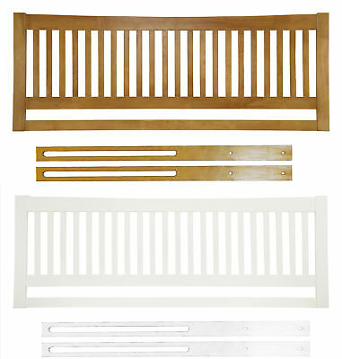 Agna Solid Wood Headboard Shaker Style Various Sizes Colours
