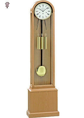 BilliB Grasmore Grandmother Clock Mechanical Chime Auto Automatic Silencing Oak