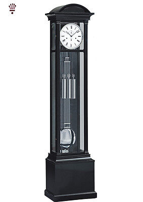 BilliB Witney Grandfather Clock Westminster Chime Steinway Black