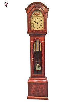 BilliB Baronet Grandfather Clock Limited Edition Mechanical Chime Mahogany