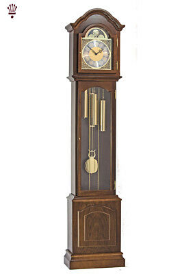 BilliB Glenhaven Grandmother Clock Limited Edition Mechanical Moondial Walnut