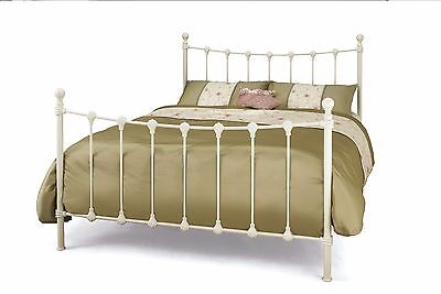 Toulon Metal Bed Frame Victorian Vintage Style Various Sizes and Colours