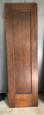 Original Mahogany Oak Interior Wooden Doors Brass Hanging Hardware 24 x 80