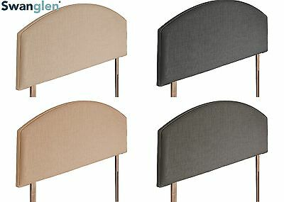Deluxe Canali Linen Fabric Headboard Various Sizes and Colours Plus Swatch