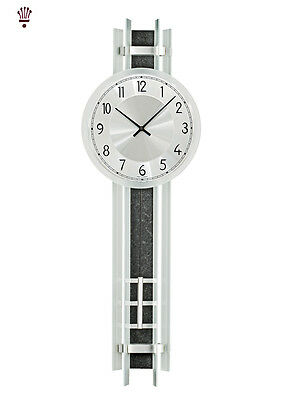BilliB Armstrong Quartz Pendulum Wall Clock Crystal Mineral Glass Black Modern