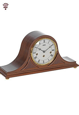 BilliB Bradfield Mantel Clock Napoleon Mechanical Chime Silencing Walnut Classic