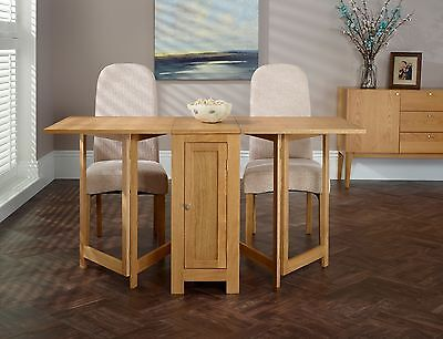 Grayling 4 Seater Drop Leaf Dining Table ONLY Butterfly Extending Solid Oak