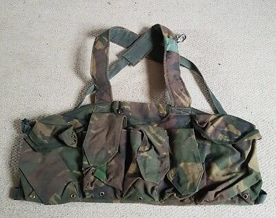 british military army dpm chest rig pouches