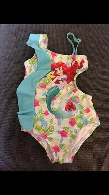 Disney Ariel One-piece Girl's Swimsuit With Cutout 3T