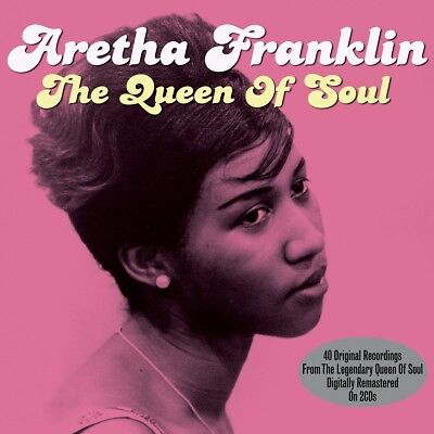 Aretha Franklin - The Queen Of Soul - 40 Original Recordings 2Cd